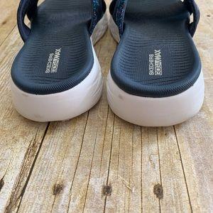 Skechers Shoes - Sketchers Gogamax denim sandals slides 8